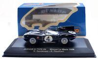 IXO LM1956 Jaguar D Type #4 Ecurie Ecosse Le Mans Winner 1956 - 1/43 Scale