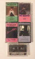 Lot Of 5 Pat Benatar Cassettes Precious Time Tropico Live From Earth Get Nervous