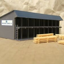 CLASSIC ~ LUMBER STORAGE RACK by WALTHERS ~ Mayhayred Trains N Scale Lot