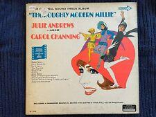 Thoroughly Modern Millie soundtrack (LP 1967) Julie Andrews, Channing, DL 1500