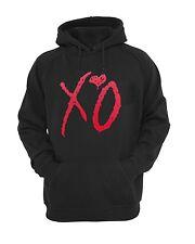 XO THE WEEKND RED hoodies , Hooded Sweatshirts XO TILL OVOXO XO THE WEEKND Black
