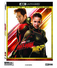 ANT-MAN AND THE WASP (4K ULTRA HD ) - Blu Ray -Region free