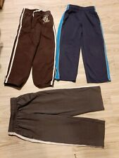3 Boys SLIM PANTS LOT size 6 7 jumping bean sweatpants + 2 MTA athletic pants
