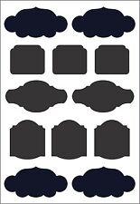 NEW Blackboard Stickers Jar Labels