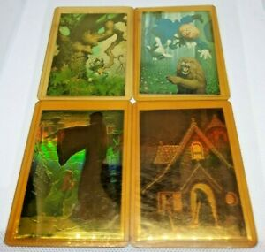 Hildebrandt - Seperate & Together - Comic Images 4 Cards - Great Condition!
