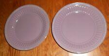 LENOX FRENCH PERLE SALAD PLATES- SET OF 2- LAVENDER