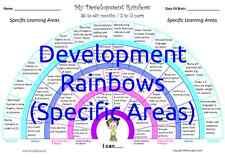 DEVELOPMENT RAINBOWS (SPECIFC) - Track children's progress from 0 to 5 years!