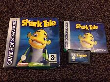 Shark Tale Gameboy Advance Game! Complete! Look At My Other Games!
