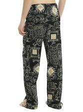HARRY POTTER MARAUDER'S MAP GUYS PAJAMA PANTS - NEW WITH TAGS! - Size Medium