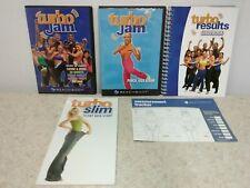 Turbo Jam Beachbody Dvd Lot/Guidebook