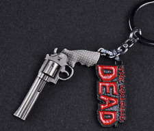 Alloy Key Ring Holder Fashion Chaveiro New The Walking Dead Keychain Metal