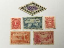 old stamps  NICARAGUA     x  6