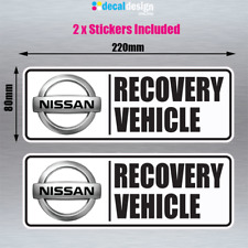 NISSAN Recovery Vehicle Sticker 4x4 Vinyl Car Decal for Toyota Ford Jeep #N010