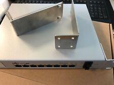 Ubiquiti UniFi Switch US-8-150W POE+, Neuwertig Ersatzbestand, inkl. Rackmount