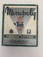 1935 Popular Edition Monopoly Parker Brothers