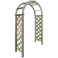 Vidaxl Arco a Traliccio in legno Verde di Pino impregnato