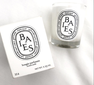New Diptyque BAIES Candle  *35g/Travel Size/Super Cute*