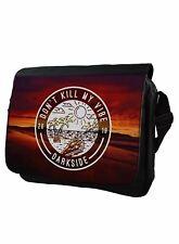 Dont Kill My Vibe Darkside Alternative Messenger Bag Laptop Bag School Bag