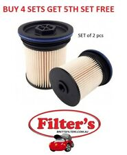 Fuel Filter KIT OF 2 Jeep Grand Cherokee Holden Captiva 04726067AA R2745P WCF195