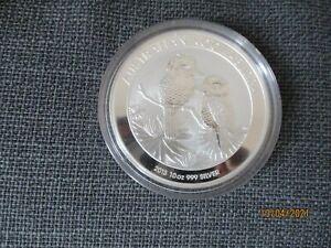 10 Oz Silber Kookaburra 2013
