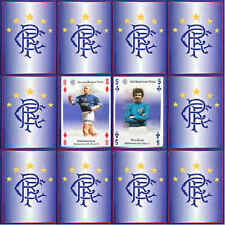 Glasgow Rangers Football Club Single Playing Cards 2004-05 - Various Players