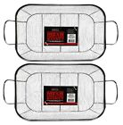 Expert Grill Stainless Steel Mesh Grilling Basket Perfect for Grilling Pack of 2