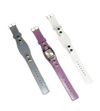 Impressionen Hochwertige Damen Quartz Uhr + 3 x Leder Wechsel-Armbänder,3 Farben