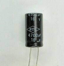 4700 uf 16v Radial Lead Electrolytic Capacitor 4700 Microfarad Leaded Polarity