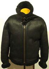 vintage men's LIMITED EDITION Harley-Davidson B3 shearling sheepskin jacket coat