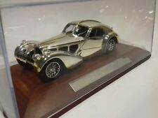 Bugatti Atlantique 57sc COUPE 1938 chrome silver-Cars Collection 1:43 (26241)