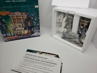 *OPEN BOX* Lemax Coventry Cove Brickle's Corner Market 2003 Lighted House