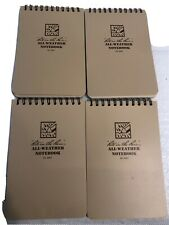 Rite In The Rain 946t All Weather Universal Spiral Notebooks Tan 4 X 6lot4