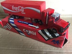CORGI UK MADE DIECAST MODEL CONTAINER TRUCK COCA-COLA