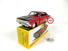 Opel Commodore + road sign - 1:43 DINKY TOYS 1420 DIECAST MODEL CAR MB410