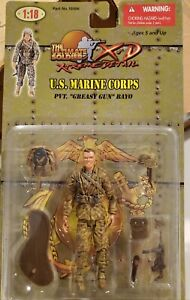 Ultimate Soldier 1/18 xd WWII US Marine Corps camo Pvt. Bayo 21st century toys