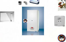 Kombitherme Gastherme Wandtherme 23kW CLN Wasser+Heizung Komplettset + RT TP 18