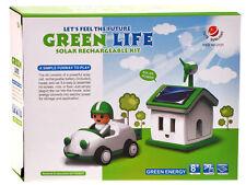 Solar Toy Green Life Solar Rechargeable Kit Solar Car Children Kids Game Gift