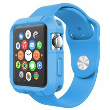 [20pcs/lot] Poetic TurtleSkin Protective Case For Apple Watch 42mm (2015) Blue