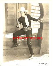 Vintage Charles Starrett SEXY HANDSOME COWBOY '39 Publicity Portrait