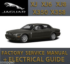 JAGUAR XJ XJ6 XJ8 X350 X358 WORKSHOP REPAIR SERVICE MANUAL 2003 - 2009 + Wiring