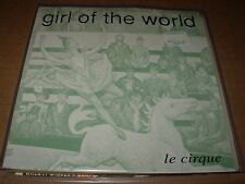 """GIRL OF THE WORLD le cirque ( rock ) - 7"""" / 45 - australia - picture sleeve -"""