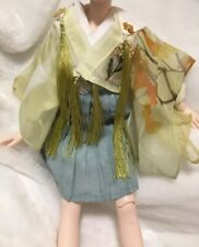 1/4 Msd bjd Rl rosenlied holiday clothes ancient Chinese style outfit yellow