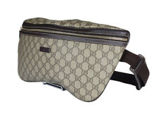 Gucci GG Patterns PVC Canvas Leather Browns Crossbody Bag GW2273