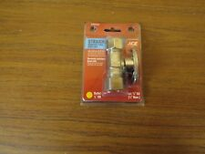 """^ ACE 4309704 Straight Valve, 5/8' inlet, 1/2"""" outlet,"""