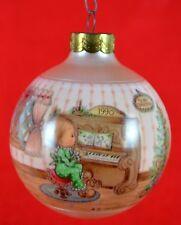 1990 Hallmark Keepsake Ornament Betsey Clark Home for Christmas Kids Play Music