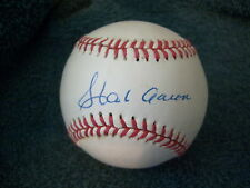 HANK  AARON   SIGNED  AUTOGRAPH  AUTHENTICATED  CLEAN  BASEBALL   SWEET  SPOT !