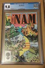 The 'Nam #1 CGC 9.8 NM/MT Wp Marvel Comics 1986 Vietnam War & Michael Golden Cvr