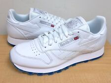 new concept 65265 82ef1 MENS REEBOK CLASSIC LEATHER ICE White Steel-Ice -AR3781- ATHLETIC