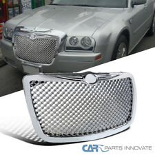 05-10 Chrysler 300 300C Front Chrome ABS Mesh Honeycomb Style Hood Grill Grille