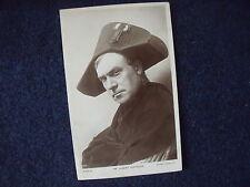 Albert Chevalier as Napoleon, original vintage postcard, music hall, c 1914